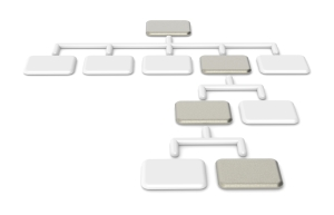 blank org chart